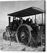 Steam Tractor Canvas Print