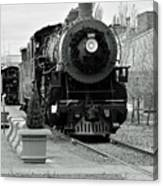 Steam Train Canvas Print