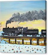 Steam Train One From Mike Massee Photo Canvas Print