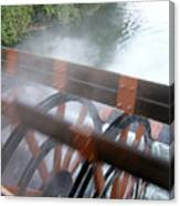 Steamboat Canvas Print