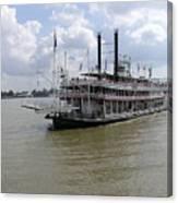 Steamboat Natchez 2 Canvas Print