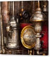 Steampunk - Needs Oil Canvas Print