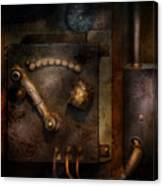 Steampunk - The Control Room  Canvas Print
