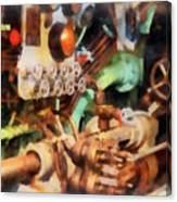 Steampunk - Torpedo Controls Canvas Print