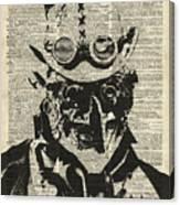 Steampunk Guy Canvas Print