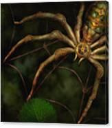 Steampunk - Spider - Arachnia Automata Canvas Print