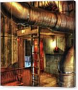Steampunk - Where The Pipes Go Canvas Print
