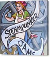 Steampunked Jams Canvas Print
