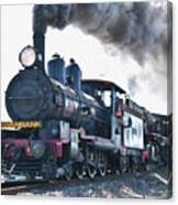 Steamtrain To Carltoncreekhurst L B Canvas Print