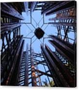 Steel And Sky Canvas Print
