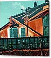 Steel City Cfi Canvas Print