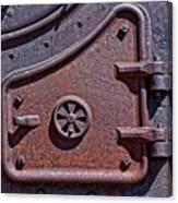 Steel Door Canvas Print