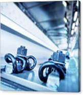 Steel Mechanic Hardware Canvas Print