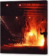 Steel Mill--china Canvas Print