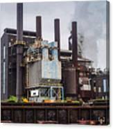 Steel Mill Canvas Print