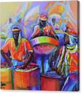 Steel Pan Carnival Canvas Print