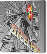 Steel Pier Canvas Print