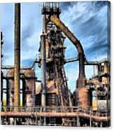 Steel Stacks Bethlehem Pa. Canvas Print