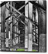 Steel Support Canvas Print