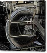 Steel Wheel Canvas Print