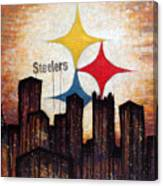 Steelers. Canvas Print