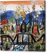 Steeltown U.s.a. Canvas Print