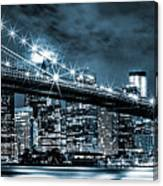 Steely Skyline Canvas Print
