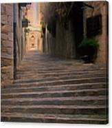 Steep Steps Of Girona Canvas Print