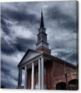 Steeple In The Sky Canvas Print