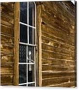 Steeple Window Wall Canvas Print