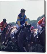 Steeplechase - 3 Canvas Print