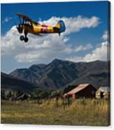 Steerman Bi-plane Canvas Print