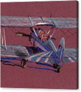 Steerman Biplane Canvas Print