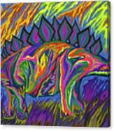 Stegasaurus Colorado Canvas Print