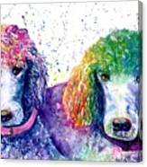 Stella And Violet Canvas Print