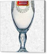 Stella Artois Chalice Painting Collectable Canvas Print