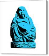 Stencil Buddha Canvas Print