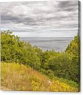 Stenshuvud Sea View Canvas Print