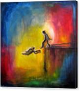Step Of Faith Canvas Print