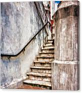 Step On Up Canvas Print