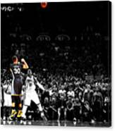 Steph Curry Its Good Canvas Print