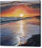 Stephanie's Sunset Canvas Print