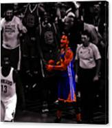 Stephen Curry Sweet Victory Canvas Print