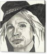 Stephen In Half Mode Canvas Print