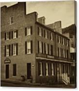 Stephensons Hotel - Harpers Ferry  West Virginia Canvas Print