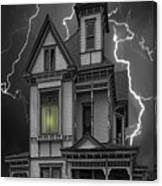 Stephenville Home Canvas Print