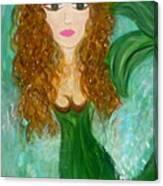 Stephie Splash Canvas Print