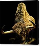 Steppe Bison Canvas Print
