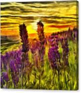 Steptoe Lupine  Canvas Print