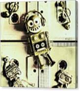 Stereo Robotics Art Canvas Print